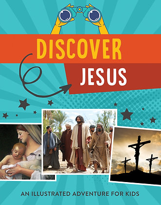 Discover Jesus PB by T Sumner