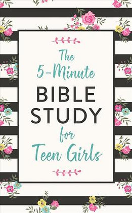 The 5 Minute Bible Study for Teen Girls PB