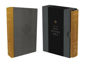 New King James Deluxe Reader's Bible HC slipcase