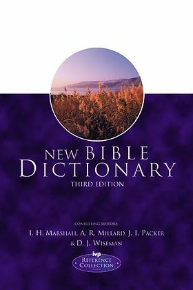 New Bible Dictionary HC By I Marshall, A Millard & JI Packer