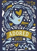 Adored HC 365 Devotions for young women