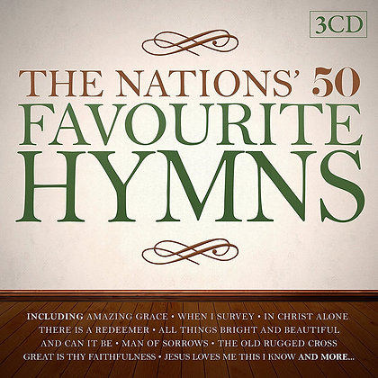 The Nations' 50 Favourite Hymns 3 Disc set