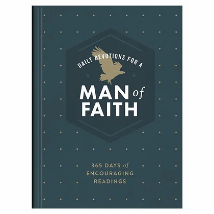 Daily Devotions for a Man of Faith HC