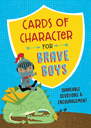 Cards of Character for Brave Boys PB