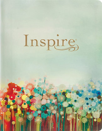 Inspire - NLT Bible for Coloring & Creative Journaling Large Print ED flex cover
