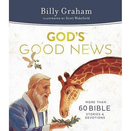 God's Good News HC by Billy Graham
