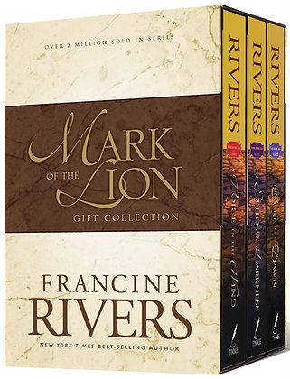 Mark of the Lion Gift Collection 3 volume box set by Francine Rivers