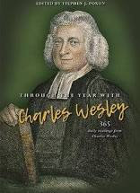Through the Year With Charles Wesley PB by Stephen Poxon