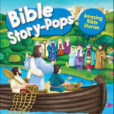 Bible Story-Pops: Amazing Bible Stories HC by Juliet David pop-up bk