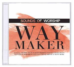 Way Maker CD Sounds of Worship - mixed artists