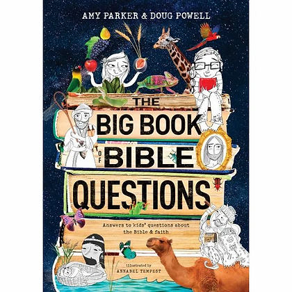 The Big Book Of Bible Questions HC by A Parker & D Powell
