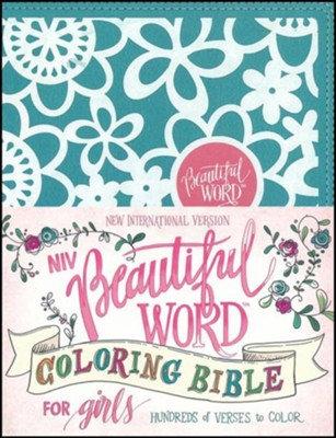 NIV Beautiful Word Bible Duotone Teal