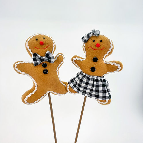GINGERBREAD 2PC BOY & GIRL PICK