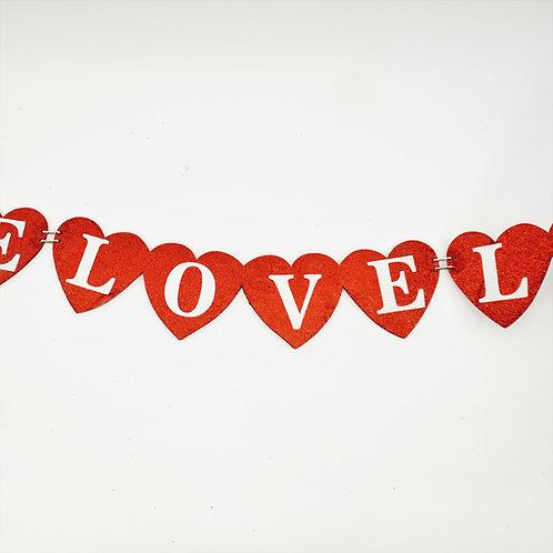 GARLAND FOAM BOARD LOVE LOVE LOVE 5FT
