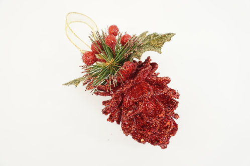 PINECONE SPARKLING MED RED