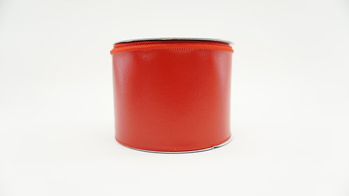 RIBBON LEATHERETTE 4X10 RED