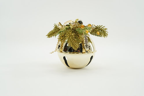 JINGLE BELL 120MM WITH DECOR GOLD
