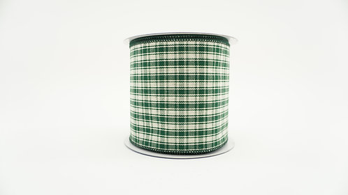RIBBON COUNTRY PLAID 4X10 GREEN