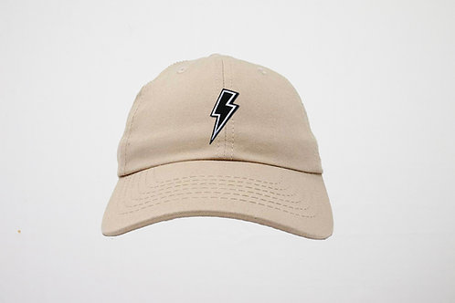 Empowered Lighting Bolt Embroidered Hat