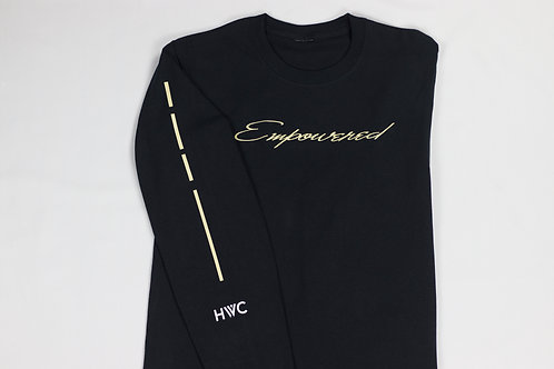 Empowered Script Long Sleeve Shirt