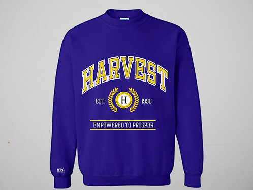 25th Anniversary Embroidered Harvest Crewneck
