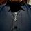 Thumbnail: Inverted cross pendant, upside down cross, unisex necklace.