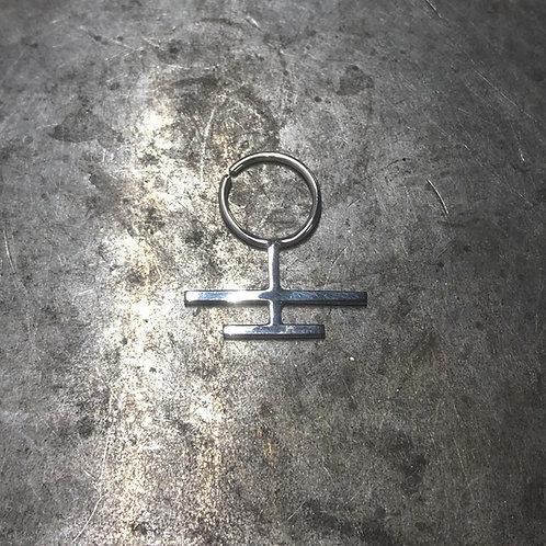 Inverted Archiepiscopal Cross Septum ring.