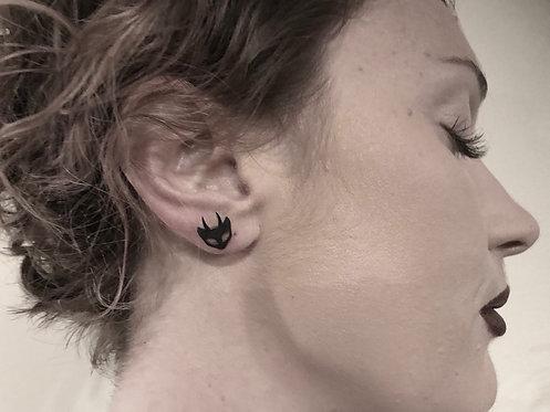 Horny Cat ear studs