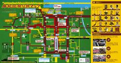 岸和田祭見物マップ(2017)