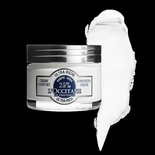 Crème visage confort ultra riche karité L'Occitane