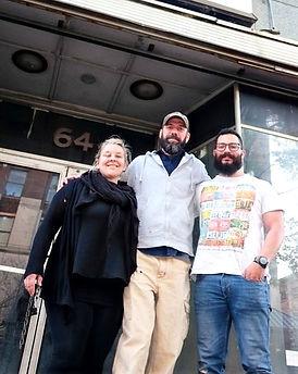 Amanda and David Krog, Gabe Velasquez