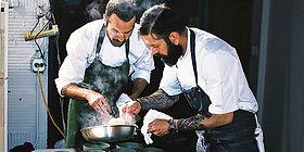 Chef Dave Krog,  Zach Thomason