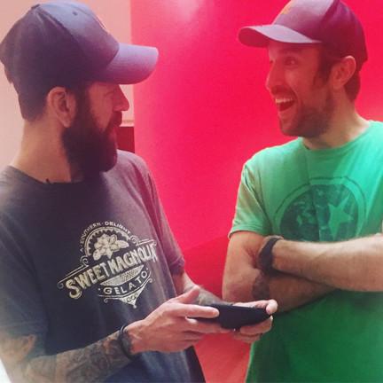 Chef Dave Krog and Chef Zach Thomason