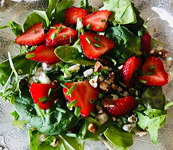 Spinach Strawberry Salad, Memphis Food Delivery