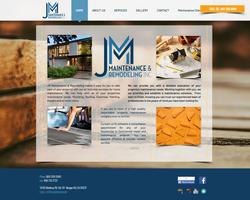 J & M Remodeling Website Design
