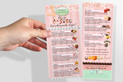 Bakery Menu Design