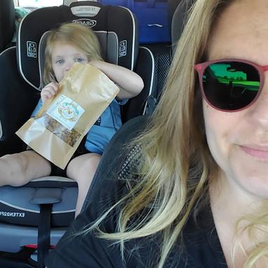Delivering Granola in East Memphis
