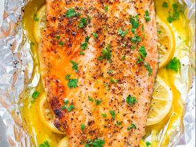 Persian Saffron & Citrus Salmon