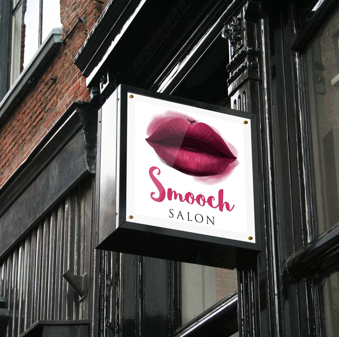 Smooch Salon Logo Design