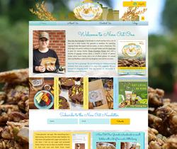 Nine Oat One Granola e-commerce website