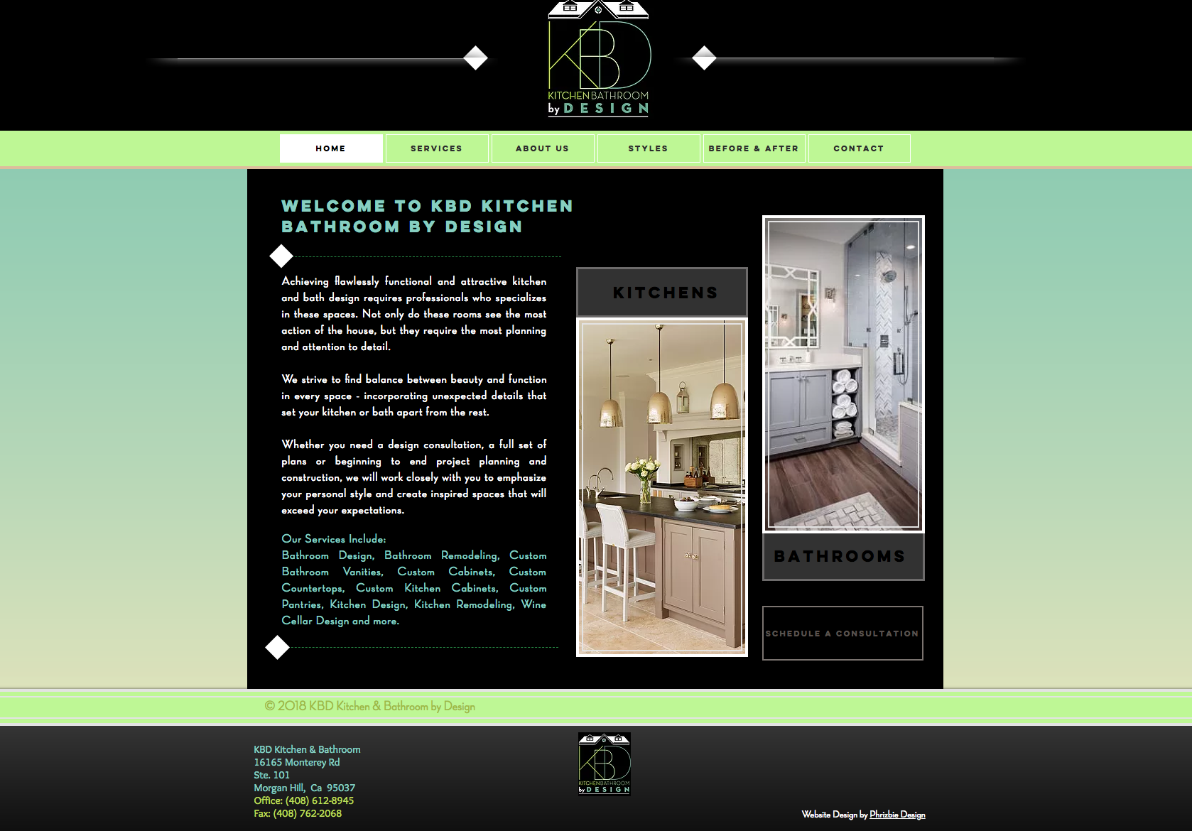 KDB Design Website Design