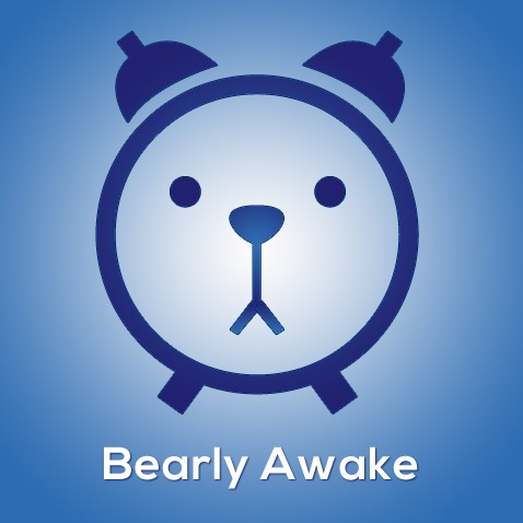 Bearly Awake Custom Logo