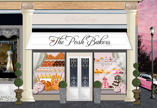 The Posh Bakers Illustration