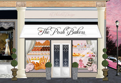 The Posh Bakers Illustration
