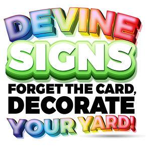 Devine Signs Yard Cards