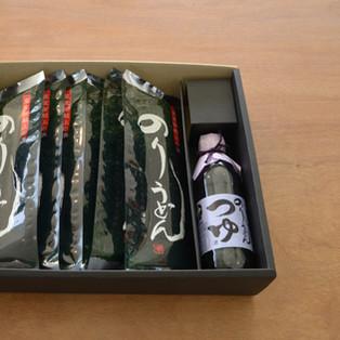Nori udon set (large)