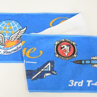Blue Impulse Muffler Towel
