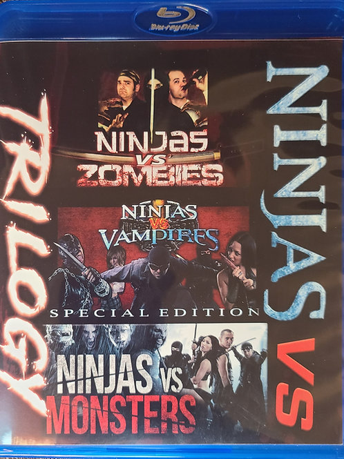 Ninjas Vs Trilogy - Blu Ray w/Autograph