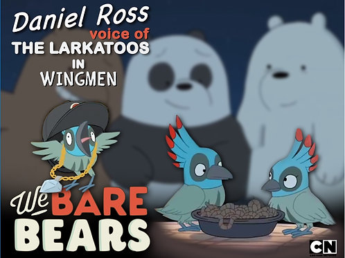 We Bare Bears Print w/Autograph