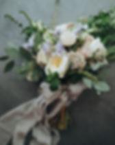Bridal bouquet. The bride's bouquet. Bea